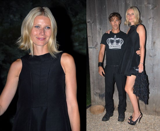 Photos of Gwyneth Paltrow at Amaryllis Farm Equine Rescue in the Hamptons
