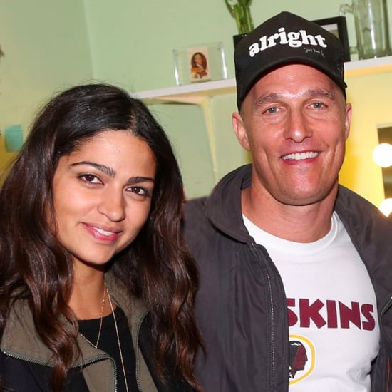 Matthew McConaughey and Camila Alves Visit Broadway 2015
