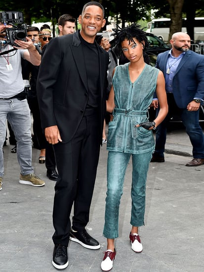 Willow Smith Brings Proud Father Will as Her Date to Chanel's Couture Show in Paris