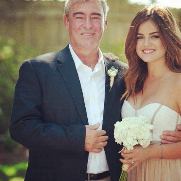 """Lucy Hale shared a photo and message, """"I love you daddy"""" on her Instagram. Source: Instagram User lucyhale89"""