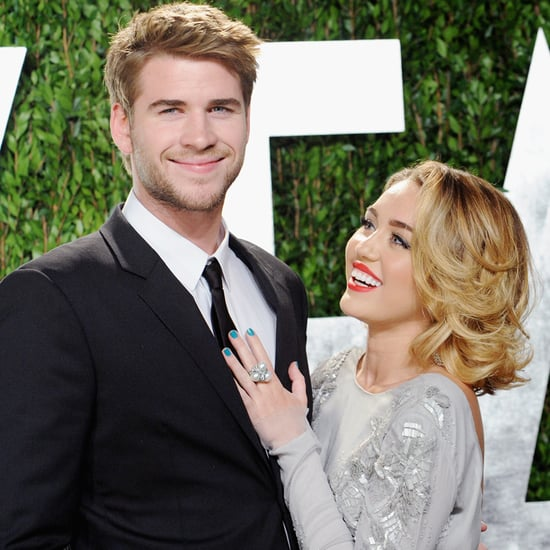 Liam Hemsworth Finally Confirms His Engagement to Miley Cyrus — Well, Sort Of