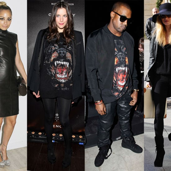 Pictures of Kate Moss, Kanye West, Liv Tyler, and More at 2011 Fall Paris Fashion Week