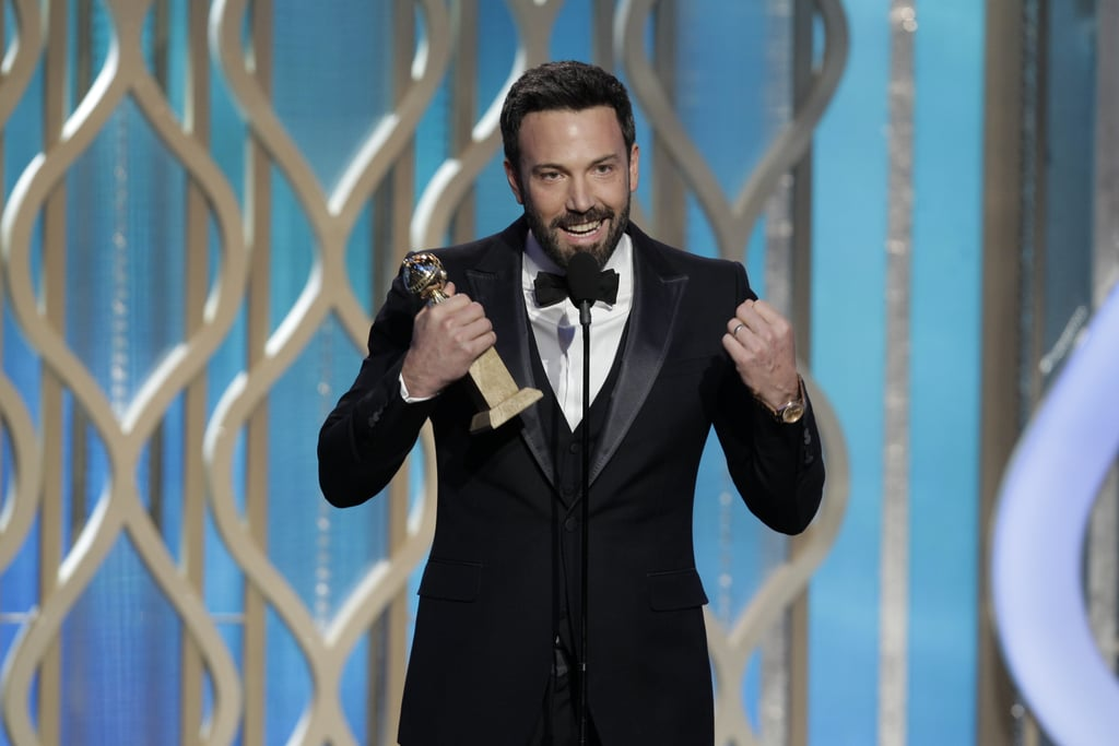 Ben Affleck accepted the award for best director for Argo.