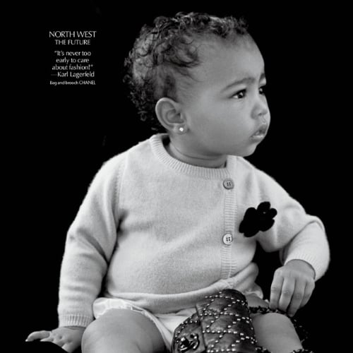 North West in CR Fashion Book | Pictures