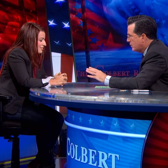 Anita Sarkeesian on The Colbert Report