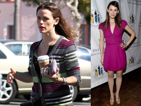 """Photos of Jennifer Garner at an LA Grocery Store and at the """"I Have a Dream"""" Foundation's Gospel Brunch"""