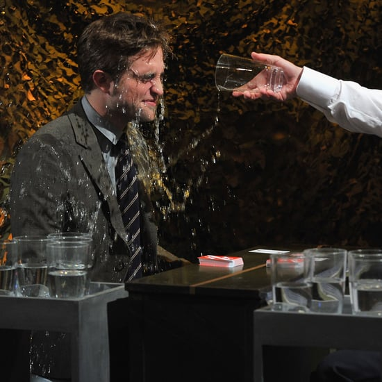 Jimmy Fallon Throws Water On Robert Pattinson