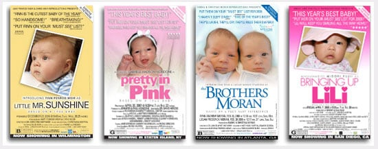 5 Star Baby Announcements Offer Blockbuster Originality