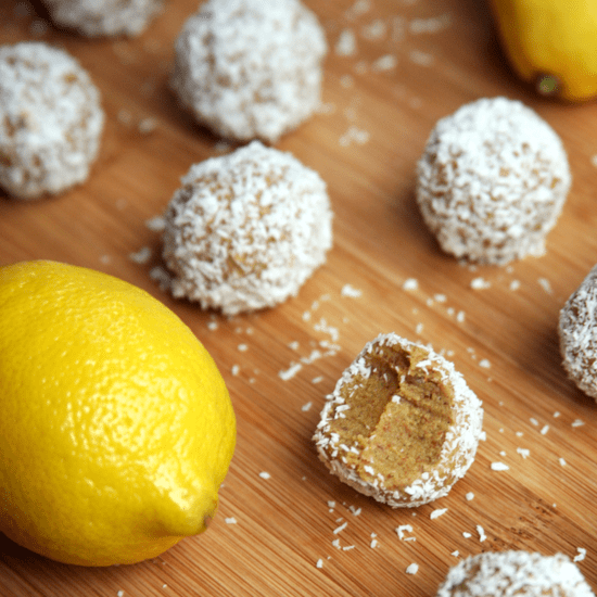 50-Calorie Lemon Coconut Protein Balls That Taste Like Summer!
