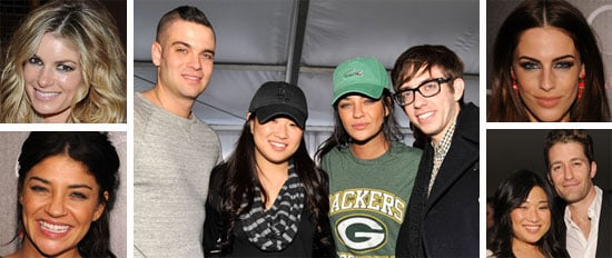Glee and Gossip Girl Stars at the 2011 Super Bowl XLV Pre-Parties and Game!