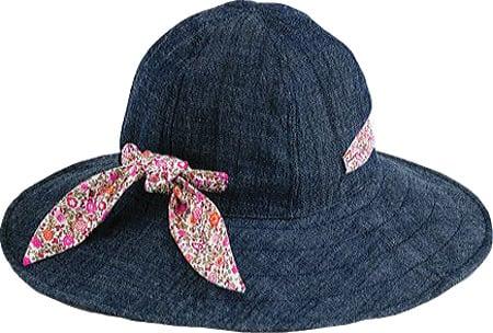 Denim Floppy Hat