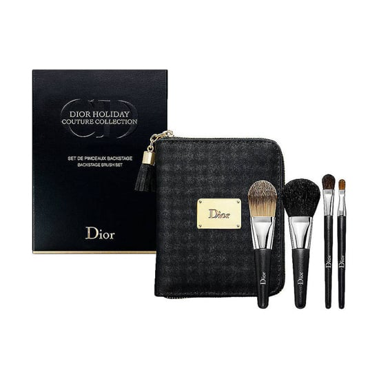 Elevate her at-home makeup routine with Dior's brush set ($65), which comes with a two foundation brushes, a lip brush, and a shadow brush, all packaged in a Dior travel case.
