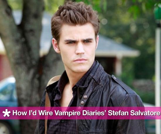 How I'd Wire Vampire Diaries' Stefan Salvatore