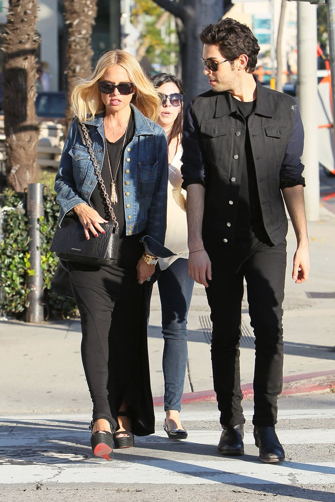 Rachel Zoe Shows Off Her Growing Bump and Maternity Style Shopping With Her Guys