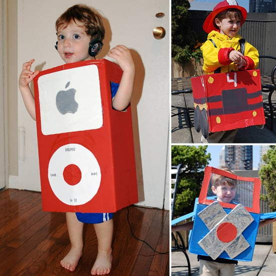 5 DIY Costumes Made From a Cardboard Box!