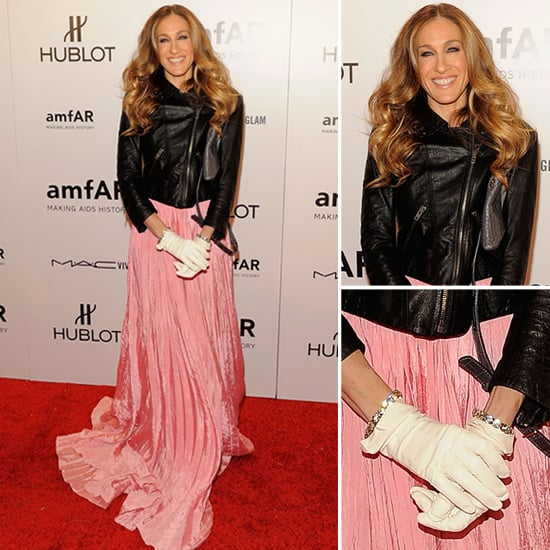 Sarah Jessica Parker Pink Gown