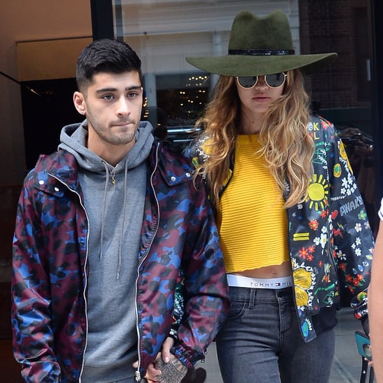 Gigi Hadid and Zayn Malik Holding Hands in NYC July 2016
