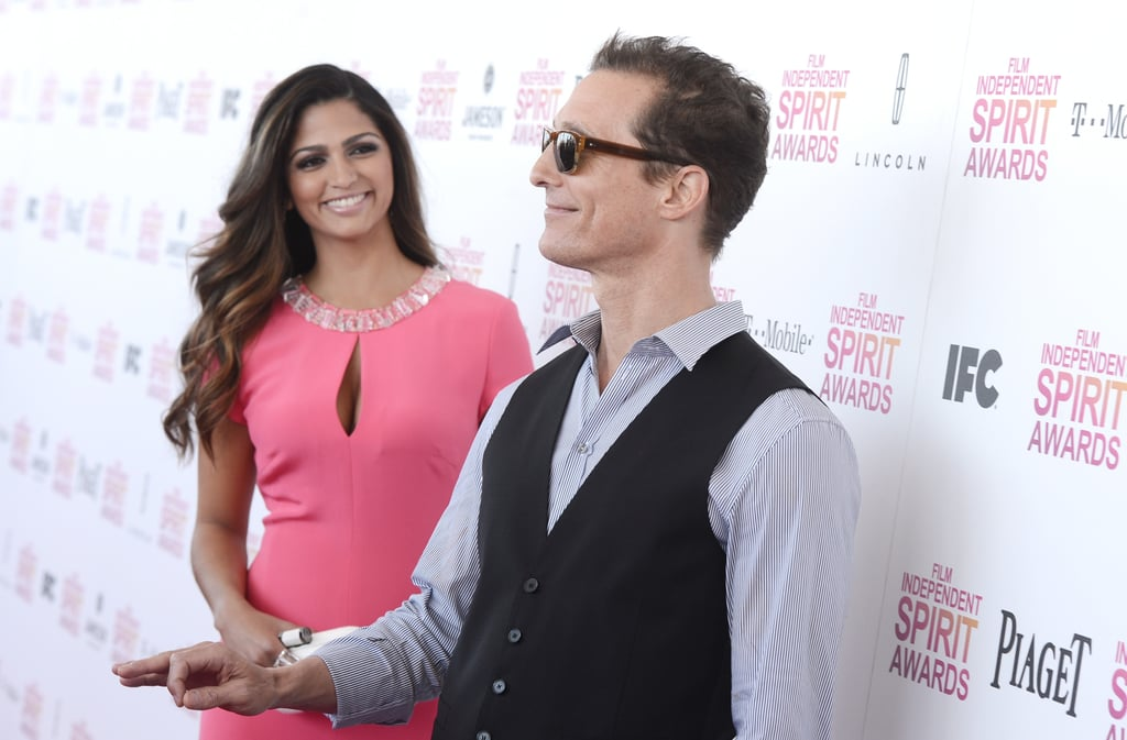They goofed off on the red carpet at the February 2013 Spirit Awards in LA.
