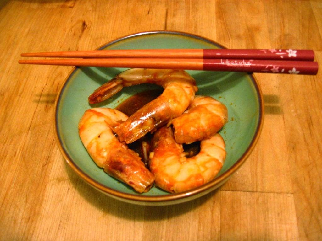 Garlic Soy Sauce Shrimp