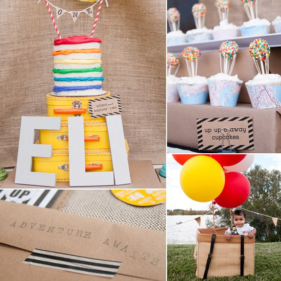 Another Up-Inspired Party (This One With Vibrant DIY Details)