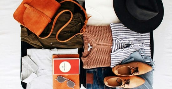 Watch a Traveler Pack 100 Items in Her Carry-On
