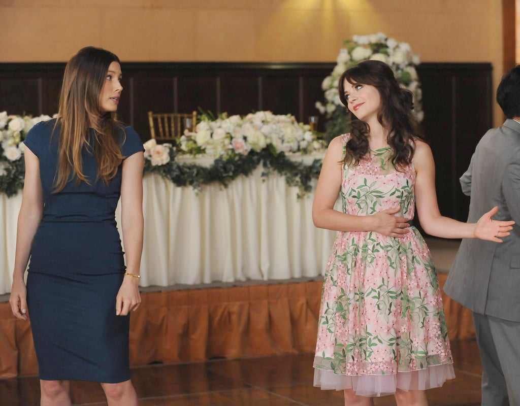 I really hope this is Jess awkwardly asking Kat to dance with her.