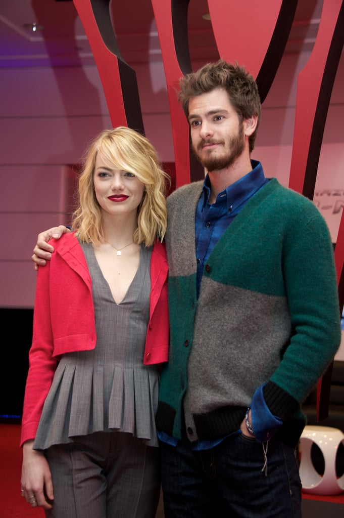 Emma Stone at a Culver City Press Event For The Amazing Spider-Man 2
