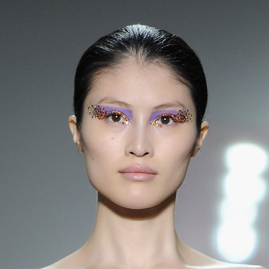 Glittery-Makeup Tips For New Year's Eve