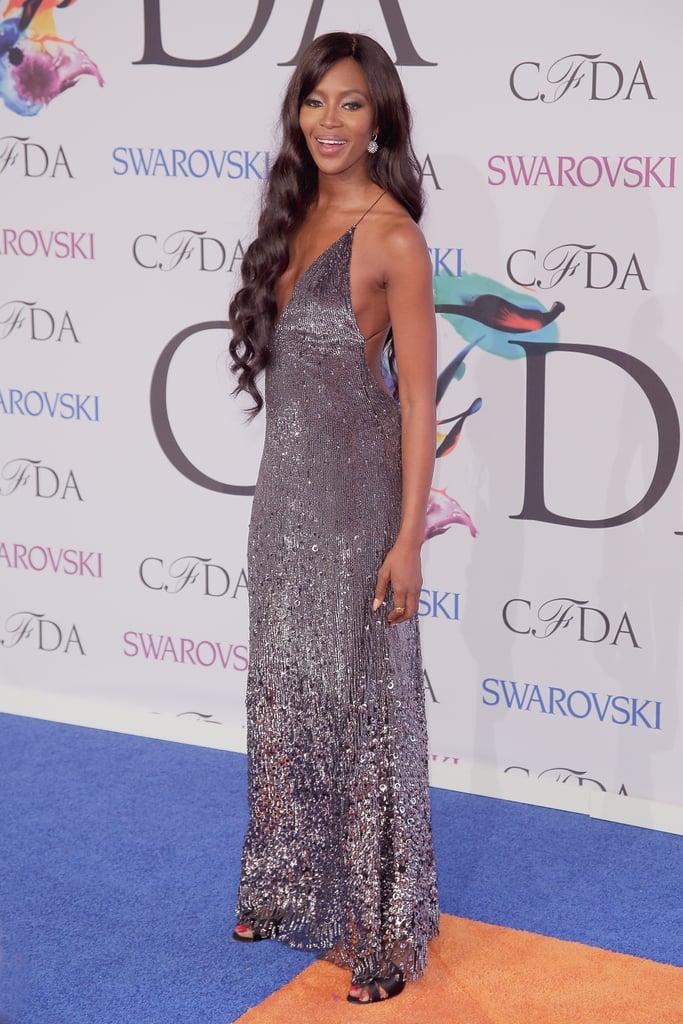 Naomi Campbell at the 2014 CFDA Awards