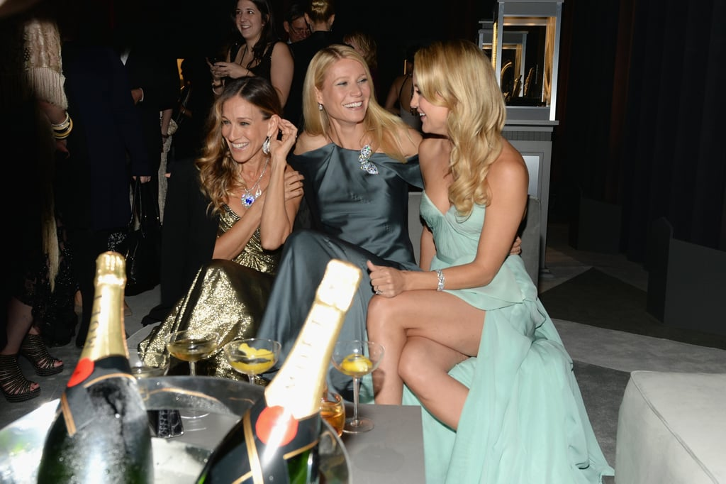 Sarah Jessica Parker, Gwyneth Paltrow, and Kate Hudson had a together laugh at Tiffany & Co.'s ball in NYC.