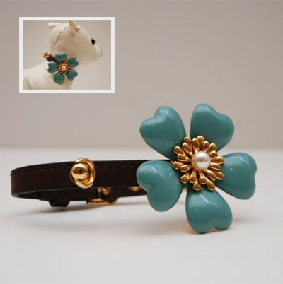Juicy Flower Dog Collar ($55)