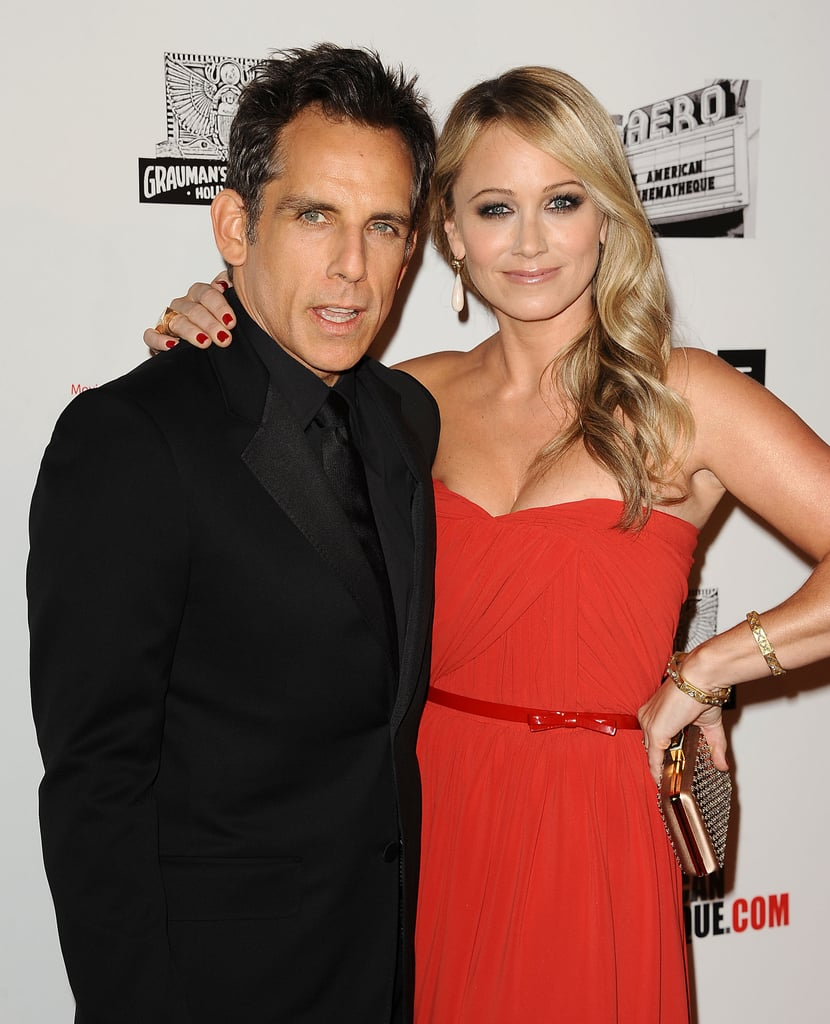 Ben Stiller and wife Christine Taylor attended the American Cinematheque Awards.