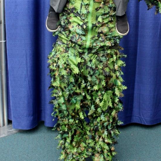 Little Boy Dressed as Edward Scissorhands at Comic-Con