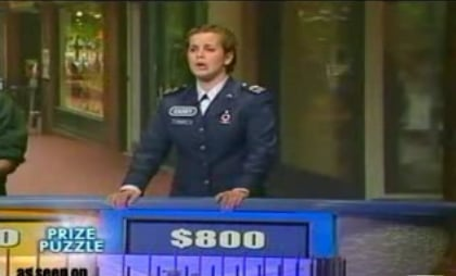 Woman on Wheel of Fortune Cannot Spell Exclusive