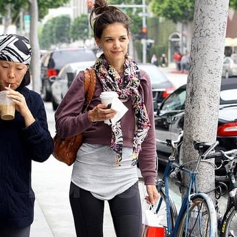 Pictures of Katie Holmes With Jeanne Yang