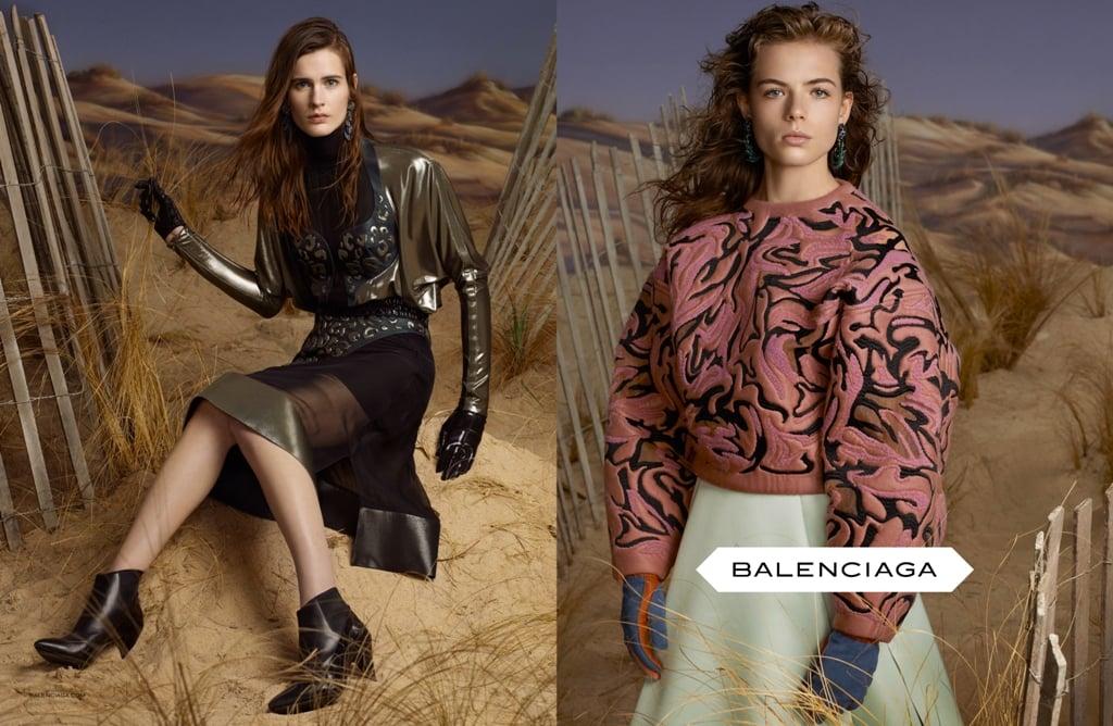 Balenciaga Fall 2012 Ad Campaign
