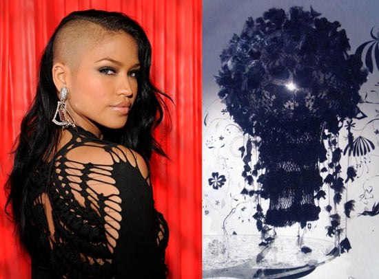 Singer Cassie Inspires CasaSugar With Her Edgy Look at the 2009 BET Awards