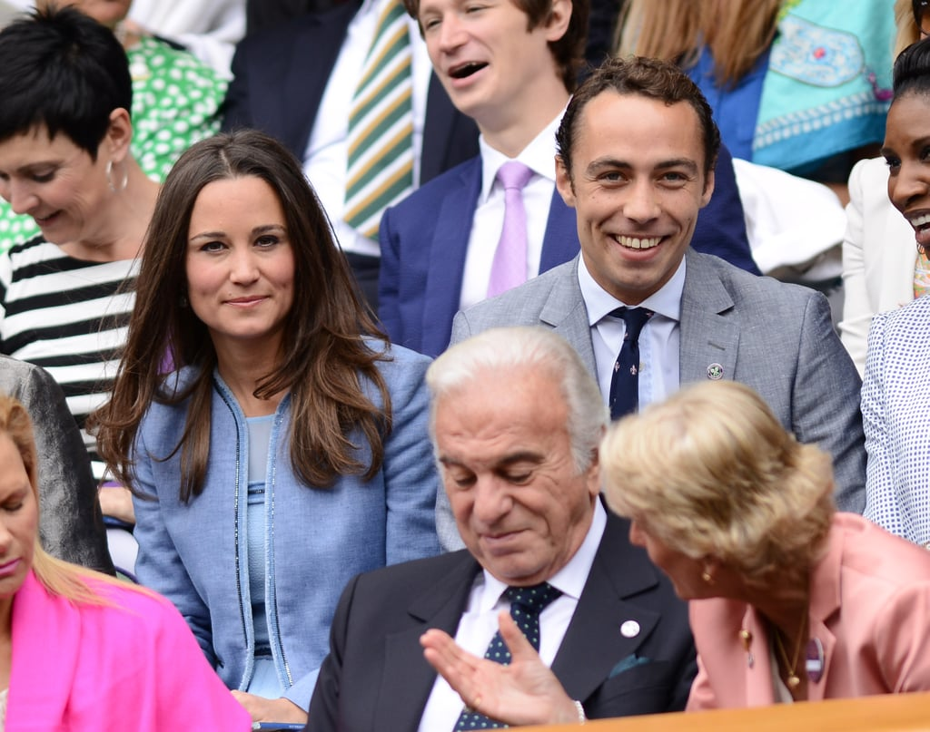 On Monday, Pippa Middleton and her brother, James Middleton, took their seats in the stands for day one of Wimbledon.
