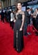 Hayley Atwell dazzled in a black dress.