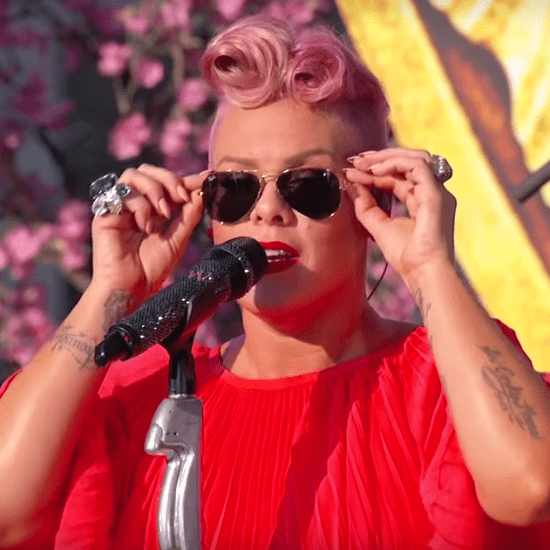 "Pink Performs ""Just Like Fire"" on Jimmy Kimmel Live"