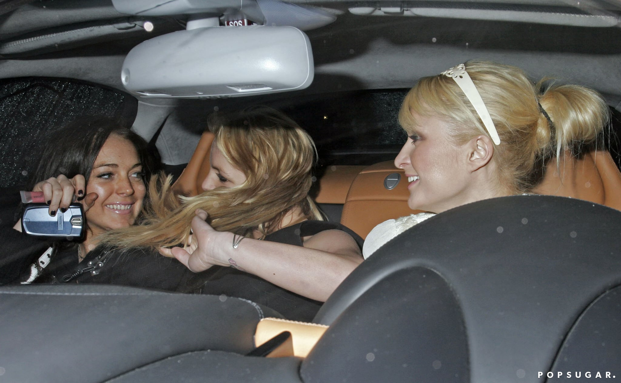 Then came the massive fame. In 2006, she went out with Britney Spears and Paris Hilton, and we would have died to be with them.