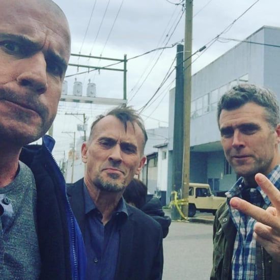Prison Break Reboot Instagram Pictures