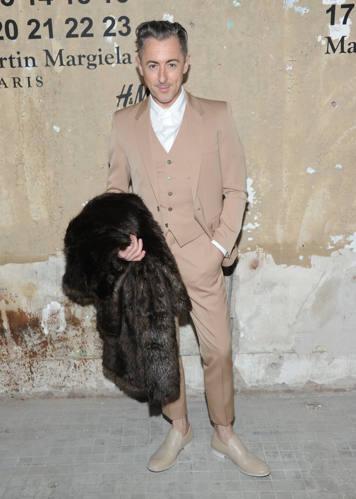 Alan Cumming stepped out to attend the launch of Maison Martin Margiela for H&M in NYC.