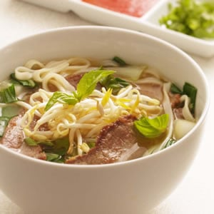 Fast & Easy Dinner: Vietnamese-Style Beef and Noodle Broth