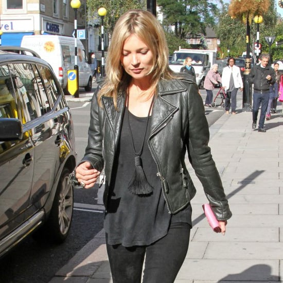 Kate Moss Wearing Tassel Necklace