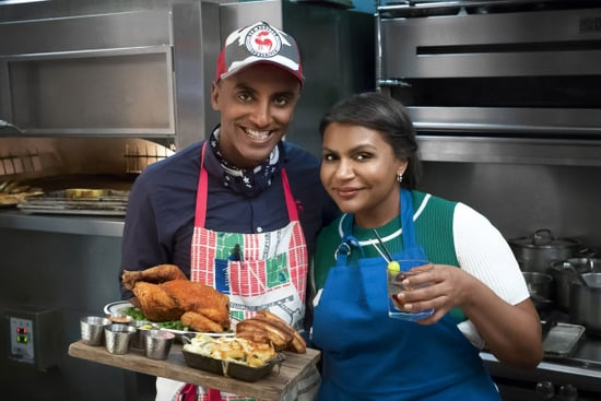 Mindy Kaling, Minka Kelly and Erin Andrews Work as Line Cooks in New Food Network Series