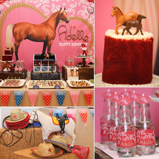 A Cute Cowgirl Party in the City