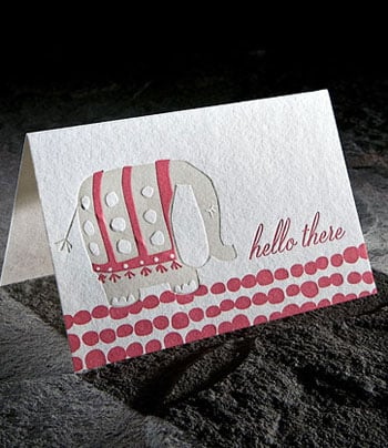 The Card Shop: Smock Hello There Card