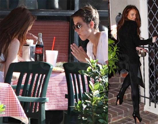 Photos of Lindsay Lohan and Samantha Ronson in LA