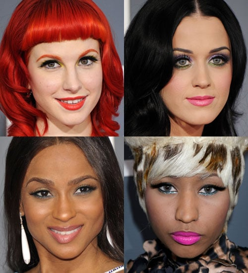 Green Eye Makeup Was Trendy at the 2011 Grammys